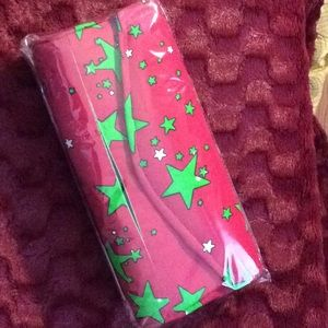 Handbags - New, medium pink & green Authentic African print